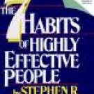 Stephen R. Covey The 7 Habits of Highly Effective People Audiobook Cassette