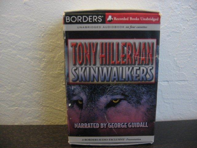 Tony Hillerman Skinwalkers Audiobook Cassette