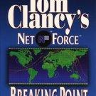 Tom Clancy Tom Clancy's Net Force Breaking Point Audiobook Cassette