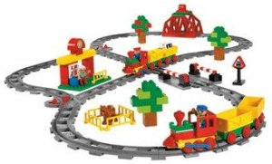 9212 Push Train Set - LEGO Duplo
