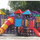 Brand New Oudoor Multi-Colored Playground