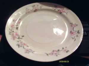 HOMER  LAUGHLIN  APPLE BLOSSOM DESSERT DISH