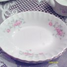 W. S. GEORGE MOSS ROSE SERVING PLATTER MEDIUM