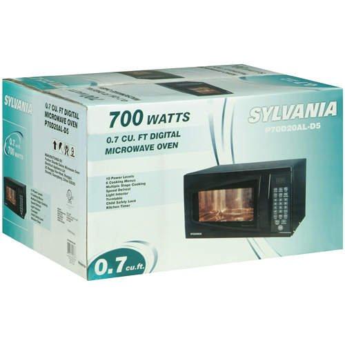 Sylvania Microwave Oven 0.7cu.ft / 700W (Black)