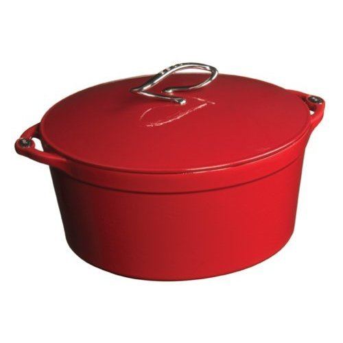Lodge Enamel - Cast Iron Enamel Dutch Oven (5 Quarts)