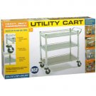Seville Commercial Chrome Utility Cart