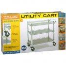 Seville Commercial Chrome Utility Cart