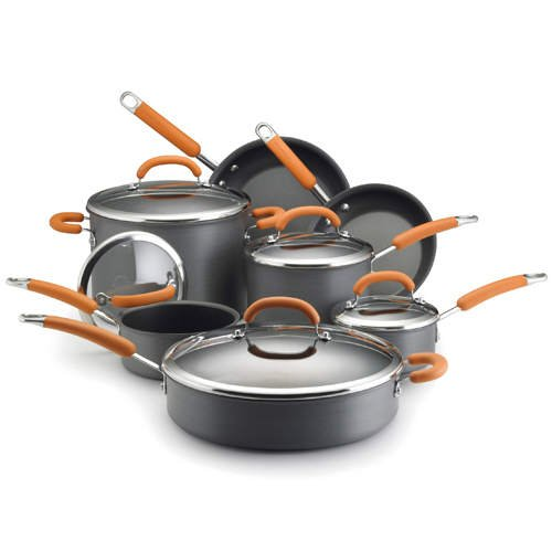 Rachael Ray Cookware Set  (12 pc., Hard Anodized)