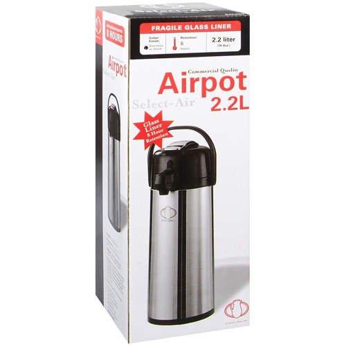 Stainless Steel Pump Airpot 2.2 Liter