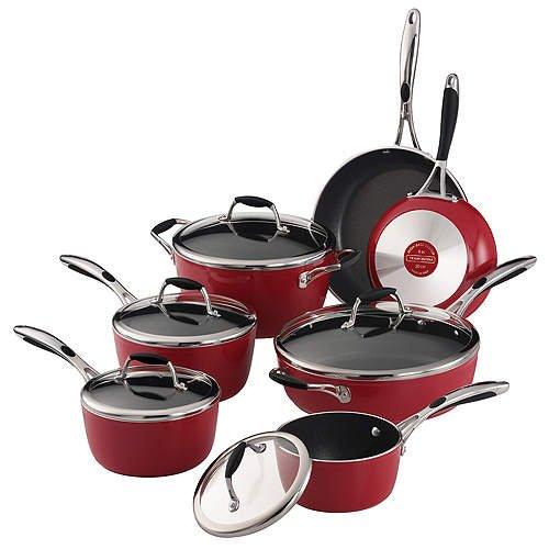 Enamel Nonstick Cookware Set - (12 pc.)