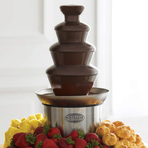 3-Tier Fondue Dessert Fountain (Stainless Steel)