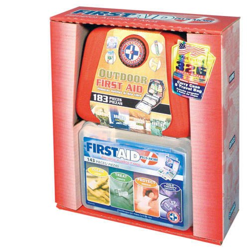First Aid 2 N 1 Kit - Home & Outdoor Kits  (326 Pcs.)