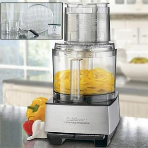 Cuisinart Custom Pro 11-Cup Stainless Steel Food Processor (w/ bonus accessories)
