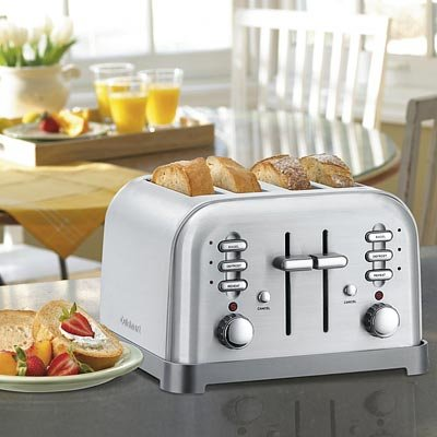 Cuisinart Classic 4-slice Metal Toaster (brushed stainless steel)