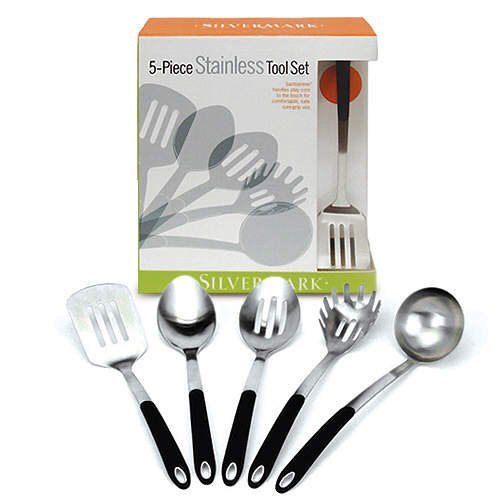 Stainless Steel Kitchen Tool Set  (5 pc.)