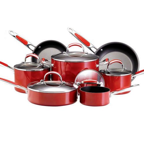 KitchenAid® Cookware Set - 12 pc. ( Red )