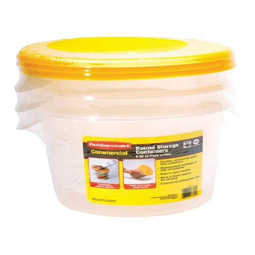 Rubbermaid® Round Storage Containers (3 Pk.)