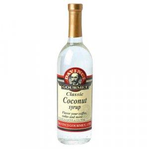DaVinci Gourmet Classic Coconut Syrup (25.4oz bottle)