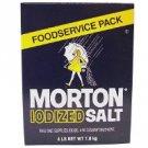 Morton - Iodized Table Salt  (4lb.)