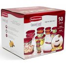 Rubbermaid EasyFind Lids™ Food Storage Set  (50pc)