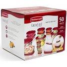 Rubbermaid EasyFind Lids™ Food Storage Set  (50pc)