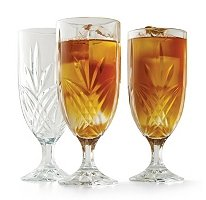 Shannon Crystal - Milano Beverage Glasses  ( Cut Crystal Pattern - 12 pk. )