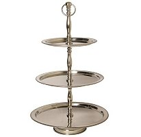 Three Tier Stainless Steel Server