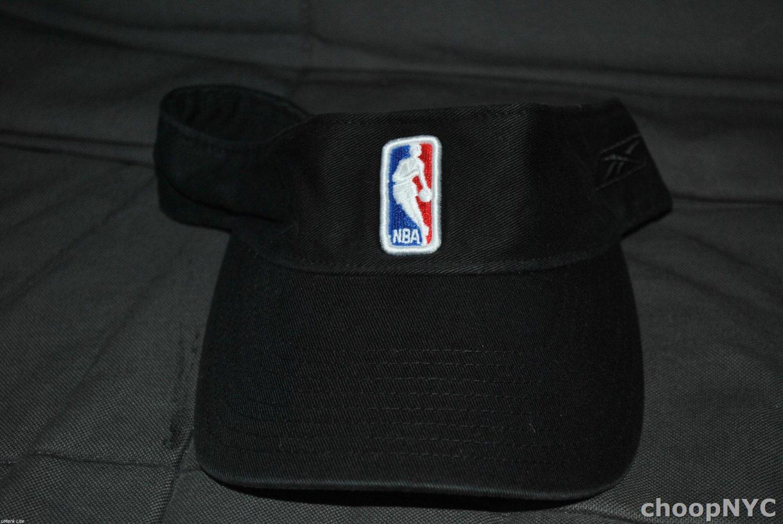 Reebok NBA Authentic Adjustable Sun Visor (Black)