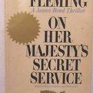 On Her Majesty's Secret Service Ian Fleming SIGNET 1963