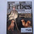 Forbes Magazine April 2009 Dog Breeder Mike Stewart