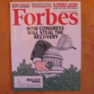 Forbes Magazine July 2009 Congress Recovery Steal