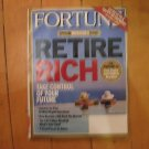 June 26 2006 Fortune Magazine Retire Rich issue