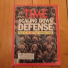 Time Magazine Feb 1990 Scaling Down Defense Military