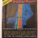 1977 New York Times Magazine: End to Cosmic Loneliness