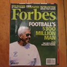 Forbes Magazine Sept 21, 2009 NFL Football Bill Parcell