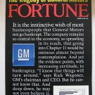 Fortune Magazine 2006 The Tragedy of General Motors GM
