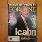 Fortune June 2007 Carl Icahn Andy Grove Nintendo Wii HP