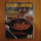 Food & Wine magazine January 2001 Paris Diet Secrets