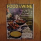 Food & Wine magazine May 2004 Country Cooking recipes