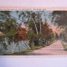 Along Birch Road Lake Assawampsett Middleboro MA card
