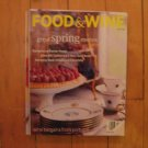 Food & Wine magazine April 1998 Spring menus Easter