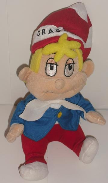 "Kellogs Rice Krispies Crackle 10"" Stuffed Plush Toy"
