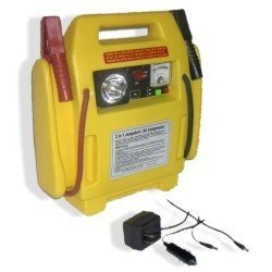 Automotive Jump Starter w/Compressor & Light