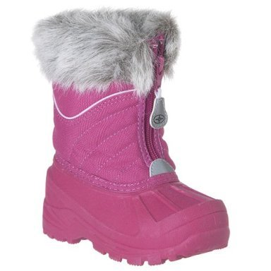 CLEARANCE - 75% OFF - Toddler Girls® Polaris Ohanna Quilted Boots - Pink - Size 7