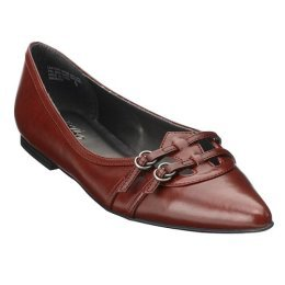 CLEARANCE - 75% OFF - Mossimo® Dionne Pointed-Toe Flats - Red - Size 6½