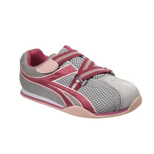 65% OFF - Toddler Girls' Xhilaration® Lissa Mesh Alt-Closure Athleisure Shoes -Gry/Pnk- Size 12 1/2