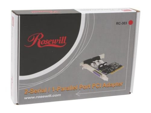 Rosewill RC-303 Dual Serial & Single Parallel Port PCI Card 2S1P - FREE SHIPPING