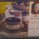 NEW Paula Deen 16pc Dinnerware Set