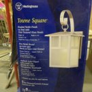 NEW Westinghouse Towne Square Outdoor Wall Lantern - Brushed Nickel Finish (69919)