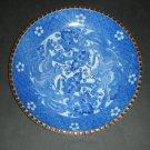 "20thc Japanese Igezara Blue White Plate Pair Phoenix (9.5"")"
